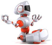 Zen robot — Stock Photo