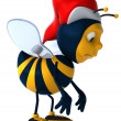 Fun bee — Stock Photo #16887229