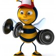 Stock Photo: Fun bee