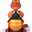 Fun dragon — Stock Photo #18586643