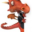 Fun dragon — Stock Photo #18586701
