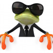 Business frog — Stock Photo #19606095