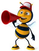 Zábava včelka — Stock fotografie
