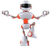 禅ロボット — ストック写真