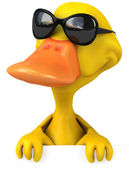 Fun duck — Stock Photo