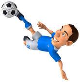 Futbolcu — Stok fotoğraf