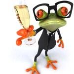 Fun frog — Stock Photo #23007296