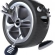 Car wheel — Stock Photo