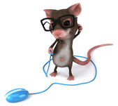 Lustige Maus — Stockfoto