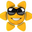 Fun sun — Stock Photo