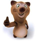 Fun bear — Stock Photo