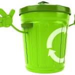 Trash bin — Stock Photo