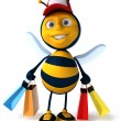 Cartoon bee — Stock Photo #29341615