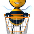 Cartoon bee — Stock Photo #29341653