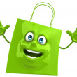 Shopping bag — Stock fotografie