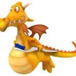 Fun dragon — Stock Photo