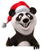 New year panda — Стоковое фото