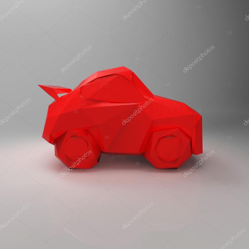 origami voiture de course en papier conception carte lectronique cours. Black Bedroom Furniture Sets. Home Design Ideas