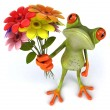 Fun frog — Stock Photo #31999191