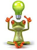 Groene kikker — Stockfoto