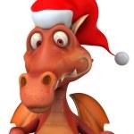 Dragón de Navidad — Foto de Stock