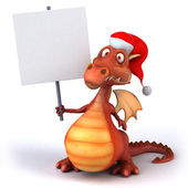 Fun dragon — Stock Photo