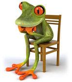 Nachdenklich Frosch — Stockfoto