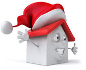 Santa House — Stock Photo
