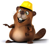 Beaver achitect — Stock Photo