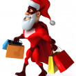 Stock Photo: Super Santa Claus