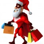 Super Santa Claus — Stock Photo