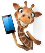 Giraffa — Foto Stock