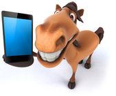 весело лошадь — Стоковое фото