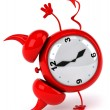 Evil alarm clock — Stock Photo #37896313