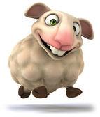 Fun Sheep — Stock Photo