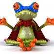 Stock Photo: Super frog