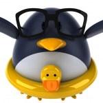 Fun penguin — Stock Photo