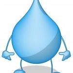 hídrica — Foto de Stock