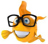 楽しい魚 — ストック写真