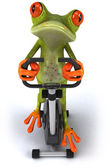 Fun frog — Stock fotografie