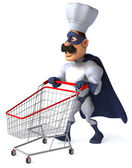 Super chef — Stock Photo