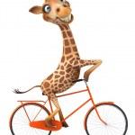 jirafa de la diversión — Foto de Stock