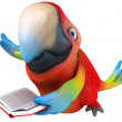Stock Photo: Fun parrot