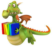 Fun dragon — Foto de Stock