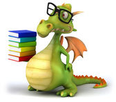 Leuke dragon — Stockfoto