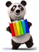 веселья панда — Стоковое фото