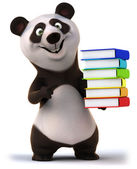 Panda eğlenceli — Stok fotoğraf