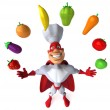 Super chef — Stock Photo #41209865
