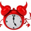 Evil alarm clock — Stock Photo #41248227
