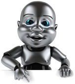 Robô bebê — Foto Stock